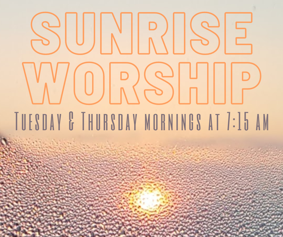 Copy of Sunrise Worship