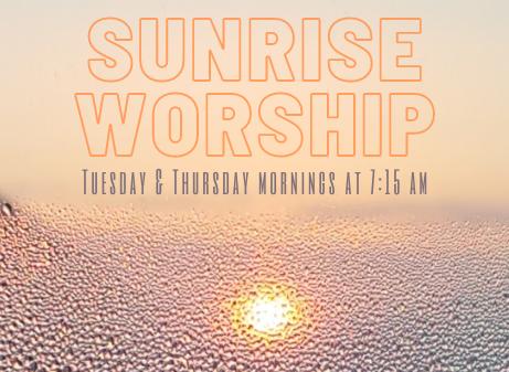 Sunrise Worship